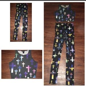 Wet Seal Cross Outfit
